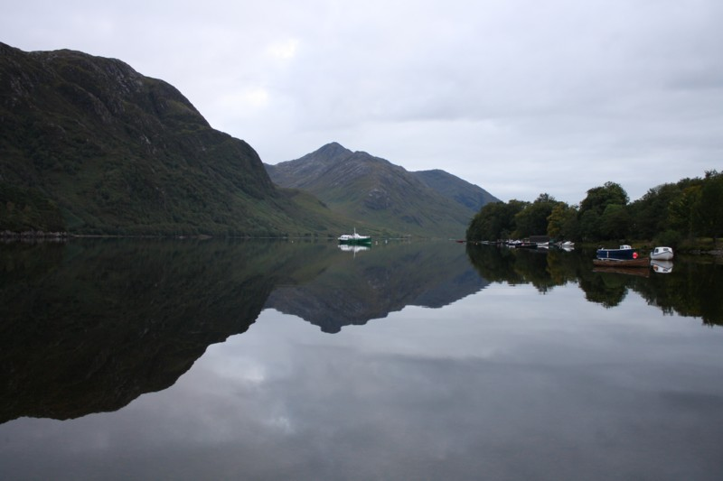 Loch Shiel, taken from the village of Glenfinnan