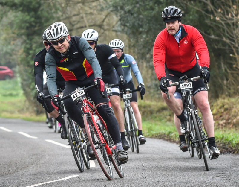 Steve Gordon, Ups and Downs Sportive 2017.